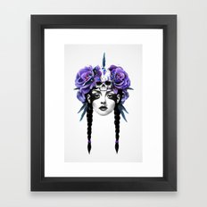 New Way Warrior Framed Art Print