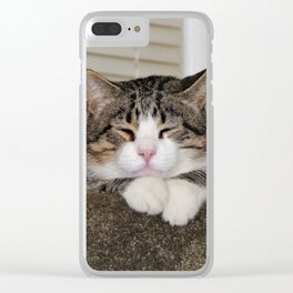 Handsome Fellow Clear iPhone Case