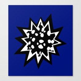 Star of Dalmatians Canvas Print