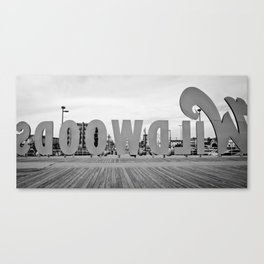Wildwood Backwards Canvas Print