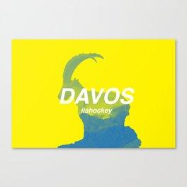HC Davos Canvas Print