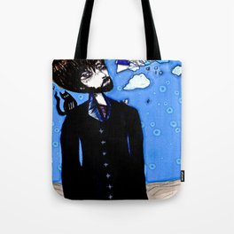 Sky Anomaly Figure Tote Bag