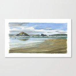 Long Beach Tofino Canvas Print