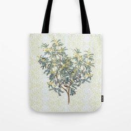 A bird in the bush Tote Bag