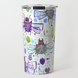 Inky Beetles Travel Mug