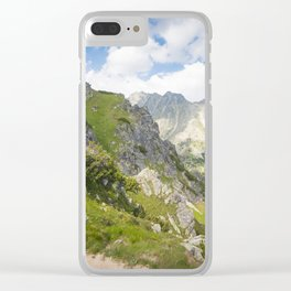 High Tatras Mountains in Slovakia Clear iPhone Case