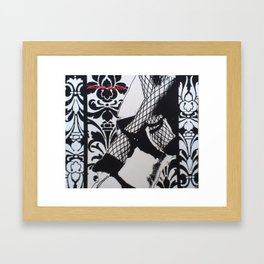 High-heeled Framed Art Print