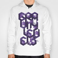 deadmau5 Hoodies featuring Gravity Levels - Geometry by Sitchko Igor