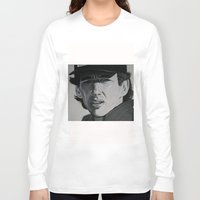 senna Long Sleeve T-shirts featuring Ayrton by Valeria Natale