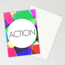 Take Action Stationery Cards