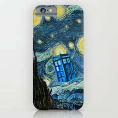 Flying Tardis doctor who starry night iPhone 4 4s 5 5c 6, pillow case, mugs and tshirt iPhone 6s Slim Case