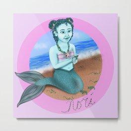 Littlest Mermaid Metal Print