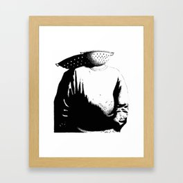 Sievehead. Framed Art Print