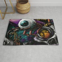 BMX eyeball. Rug
