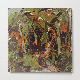Autumn Jungle Metal Print