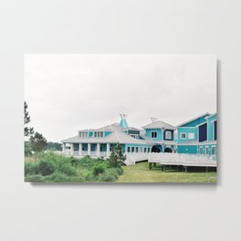Beachside Metal Print