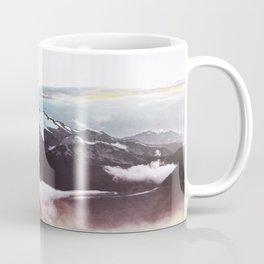 Faded mountain Coffee Mug