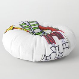 Nerdcore Tomato Eater Floor Pillow