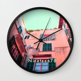 Living in Color Wall Clock