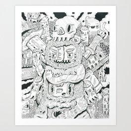 less limb Art Print
