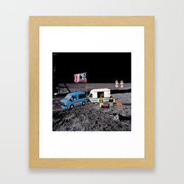 Space Camp Framed Art Print