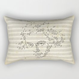 Beethoven Rectangular Pillow