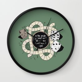 A game with drums Wall Clock
