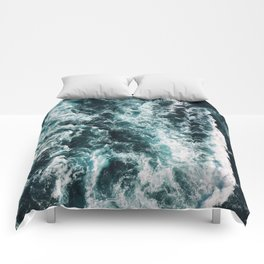 Green Seas, Yes Please Comforters