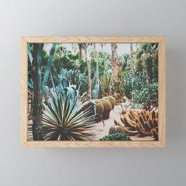 The Flora Of The Majorelle Garden Framed Mini Art Print