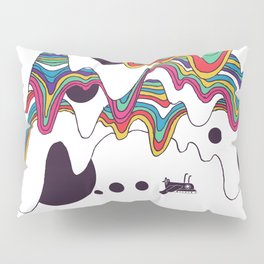 Psychedelic Planet Pillow Sham