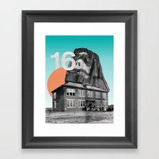 Sixteen Framed Art Print