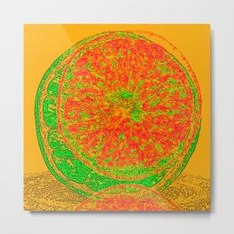 Fruity Summer Daze Metal Print