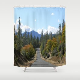 Ewing Reservoir in the Fall... Shower Curtain