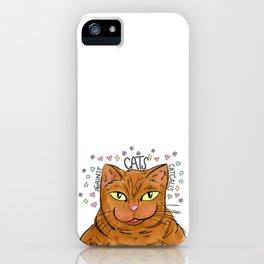 Cats Against Catcalls! iPhone Case