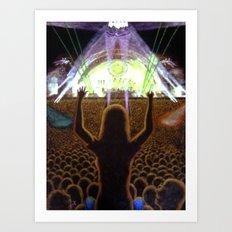 The Concert Art Print
