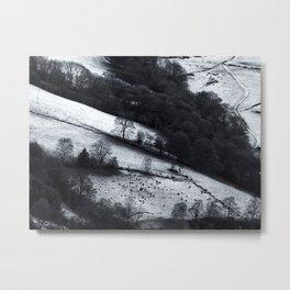 winter boundaries Metal Print