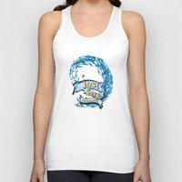 finding nemo Tank Tops featuring just keep swimming.. finding nemo by studiomarshallarts