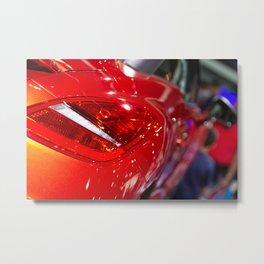 Peugeot RCZ Back Red Light Metal Print