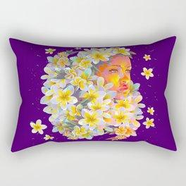 sunset flower Rectangular Pillow