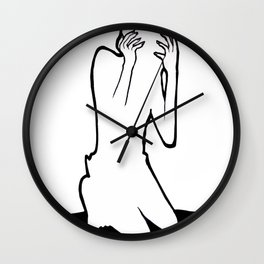 Stressed Wall Clock