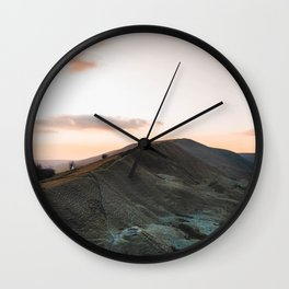 Mam Tor Wall Clock