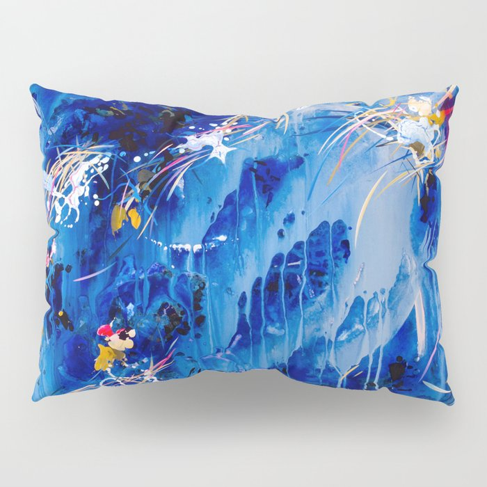 As The Universe Falls Together Pillow Sham