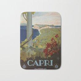 Isle of Capri Italian travel ad Bath Mat