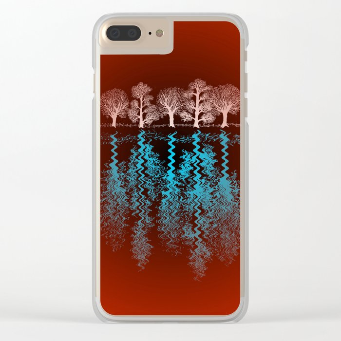 The Trees Clear iPhone Case