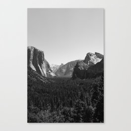 Tunnel View, Yosemite National Park III Canvas Print