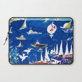 The Marina, Southport, AUSTRALIA        by Kay Lipton Laptop Sleeve