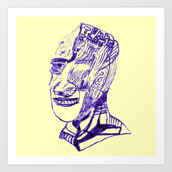 TEMP PLATE Art Print