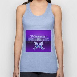 Fibromyalgia - A Pain in the Everything Unisex Tank Top