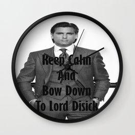 Lord Disick Wall Clock