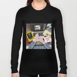 my messy desk Long Sleeve T-shirt